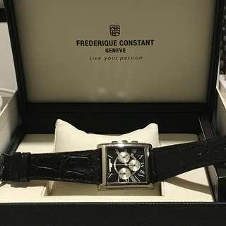 Frederique Constant Persuasion Chrono Carree Mens Watch
