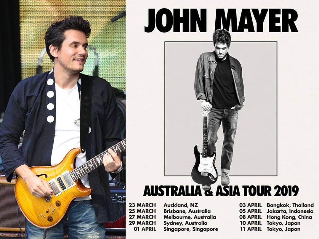 John Mayer Concert CAT 8 Singapore
