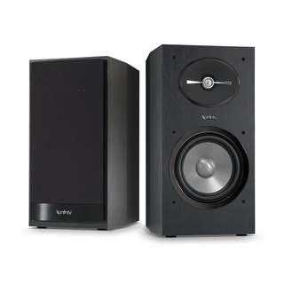 INFINITY REFERENCE R162BK BOOKSHELF SPEAKER HIGH-QUALITY SOUND  W/ 1 YEAR AGENT WARRANTY (PAYMENT AFTER DELIVERY & SETUP)