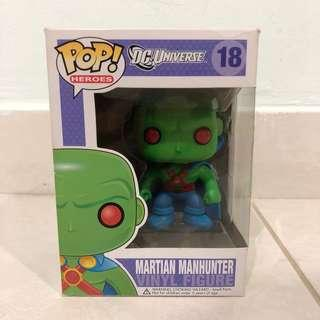 Funko Pop Martian Manhunter OG #18