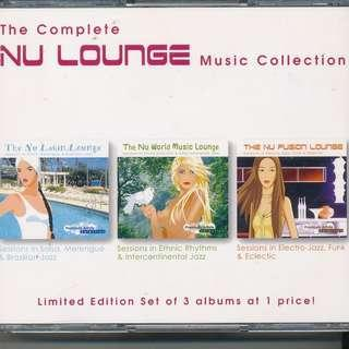 Complete Nu Lounge Music Collection (AUDIO CD) 3 CD SET [y5] *
