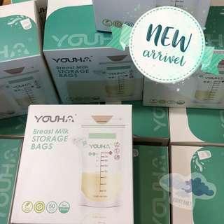 Youha Breast Milk Storage bags 優合儲奶袋