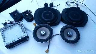Car audio set,read description for details