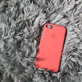 Iphone7 手機殼 棗紅色
