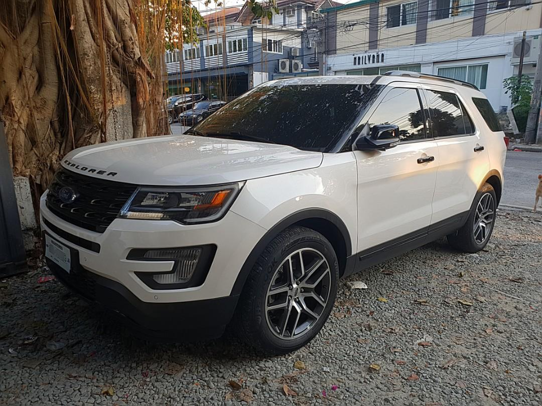 2017 Ford Explorer V6 Ecoboost Full Option Like New