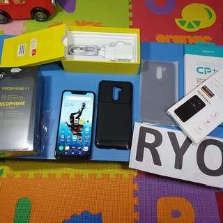 Xiaomi Pocophone F1 6/128gb Grs TAM Second Mulus