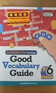 Good Vocabulary Guide (Book 6)