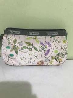 LeSportsac multiple compartment pouch