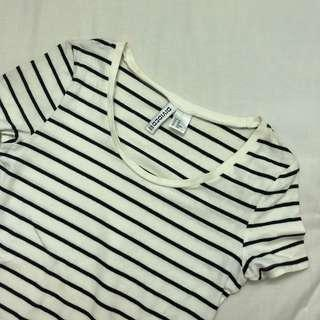 H&M Striped T-shirt #50TXT