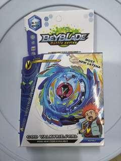 God Valkyrie c/w holder - Beyblade battle series