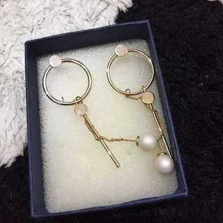 Curvakum earrings / anting