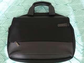 Samsonite 公事包 手提電腦袋 兩層 新秀麗