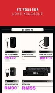 BTS LOVE YOURSELF TOUR MERCHANDISE (HONG KONG CONCERT 20-24 MARCH)