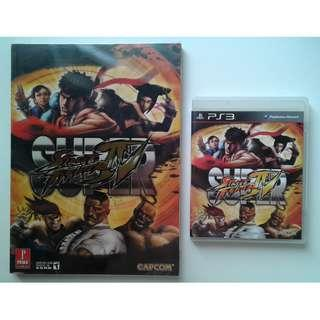 PS3 Super Street Fighter IV + Prima Official Game Guide
