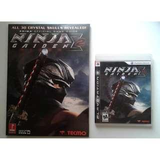 PS3 Ninja Gaiden Sigma 2 + Prima Official Game Guide