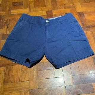 Dark Blue Chino Shorts
