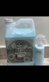 2 in 1 leather cleaner and conditioner by Chemical Guys