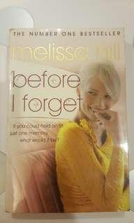 Melissa Hill - Before I Forget
