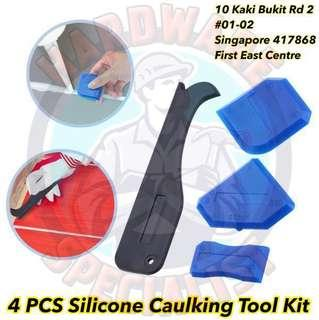 4 Pieces Silicone Caulking Tool Kit
