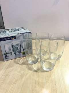 Glass Set 4pcs