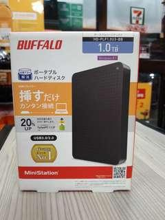 1TB External HDD Buffalo (new sealed)