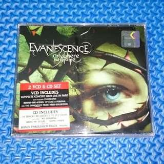 🆒 Evanescence - Anywhere But Home [2004] 2 VCD & Audio CD Set