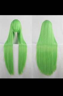 80cm Green Cosplay Wig