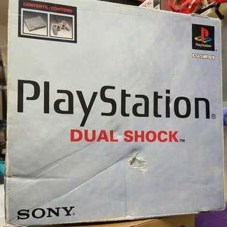 Playstation SCPH-9001 (可玩日美版)連1手掣,save card,joystock,變壓牛