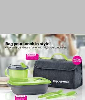 Tupperware My Smart Lunch Set
