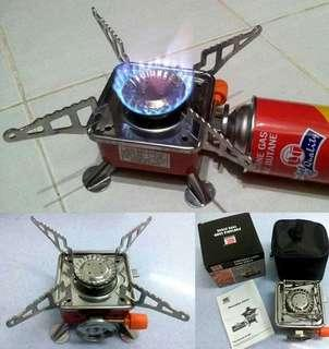 Portable card type stove