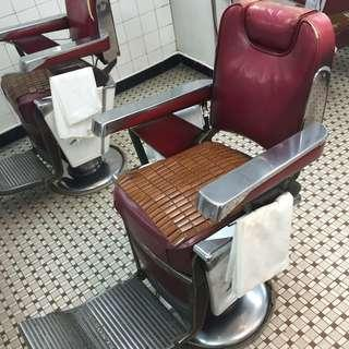 60s barber chair 上海理髮椅 made in Japan