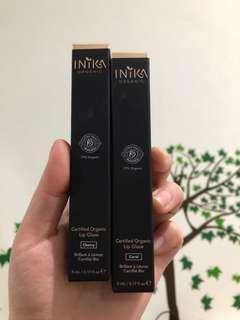 INIKA Organic non toxic vegan lip gloss lip glaze