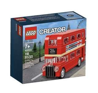Lego Mini London Bus 40220