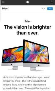 "🚚 Brand New Apple Imac 21.5"""