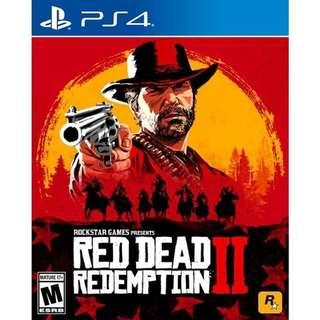 🚚 Red Dead Redemption 2 (PS4)