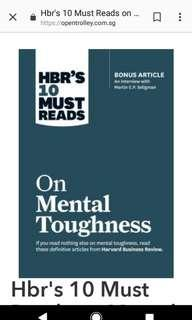 🚚 New book: HBR's 's 10 Must Reads on Mental Toughness
