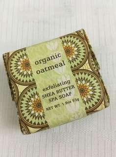 🚚 Organic Oatmeal exfoliating Shea Butter Papa Soap