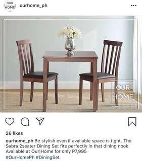 [REPRICED] 2 seater dining table