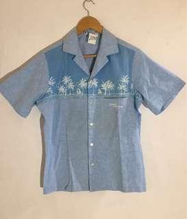 80s Hawaii Shirt Chambray