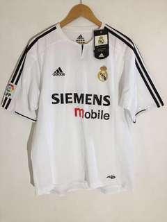 2 jc combo NOS Real Madrid Kits 03&04 Ronaldo & Raul