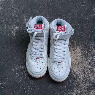 Nike Air Force I (White and red)