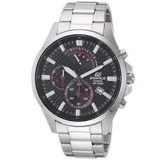 Casio Edifice Stainless Steel Dark-Tones Watch