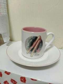 🚚 濃縮咖啡杯盤一組