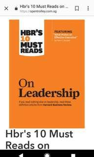 New book : HBR's 10 Must Reads on Leadership