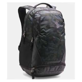 Under Armour UA Hustle 3.0 Backpack-Camo, grey/orange,Navy, Red
