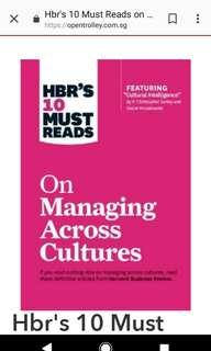 New book: HBR's 10 Must Reads on Managing across cultures