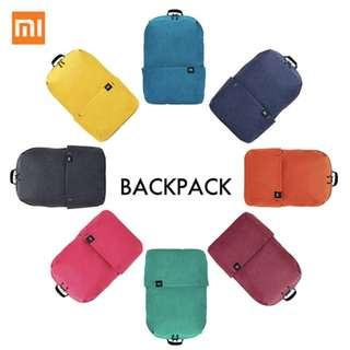 Original Xiaomi Mi Backpack 10L Bag 8 Colors 165g