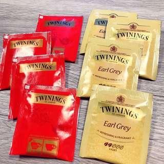 Twinings 唐寧 早餐茶 伯爵茶 低咖啡因 伯爵 皇家伯爵茶 英倫早餐茶 紅茶 經典紅茶 茶包 獨立包裝 獨立茶包
