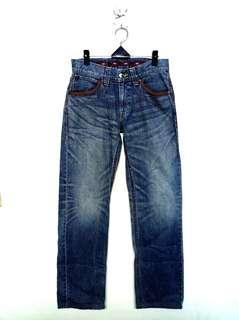 30腰 Edwin Exclusive Vintage 藍水洗牛仔褲