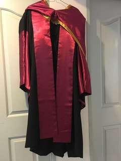 NTU PhD convocation gown